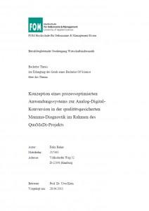 kolloquium bachelor thesis