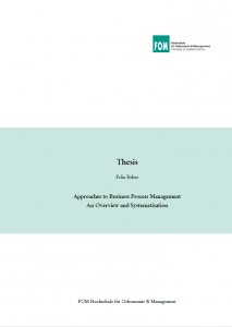 Master thesis mba